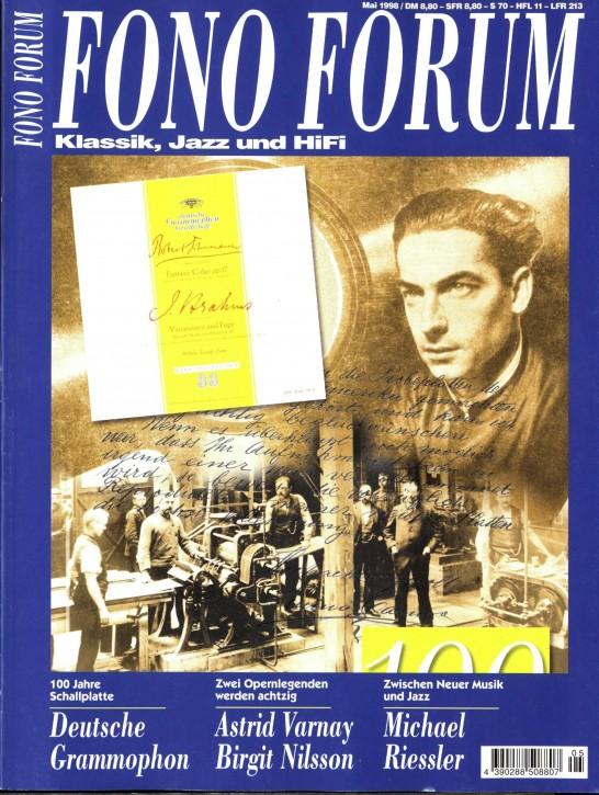 FonoForum Mai 1998