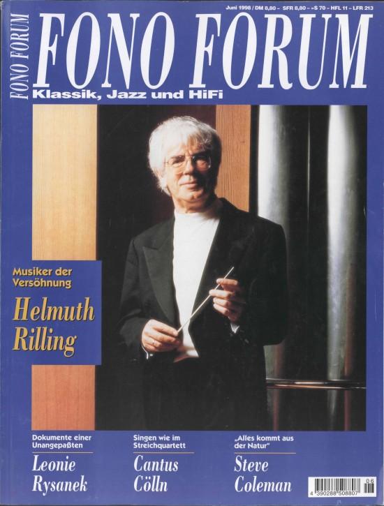 FonoForum Juni 1998