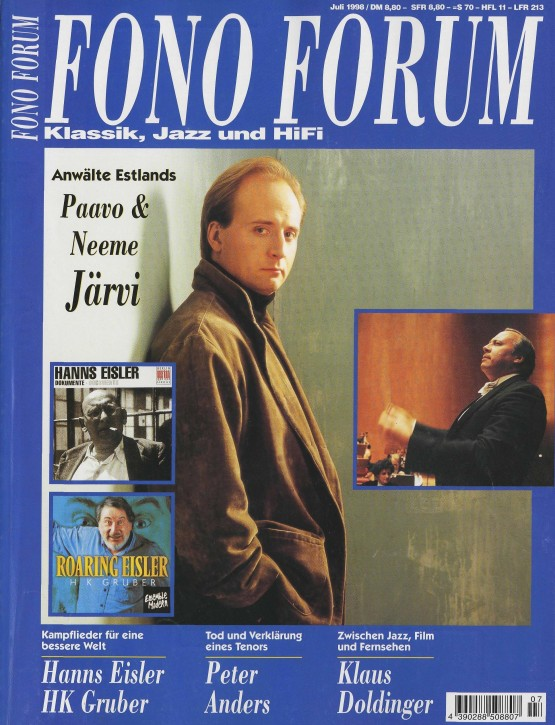 FonoForum Juli 1998