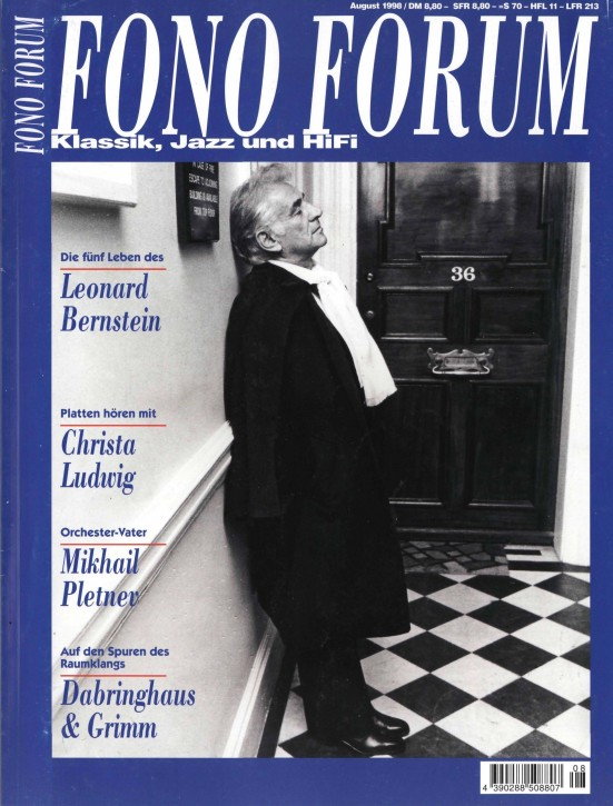 FonoForum August 1998