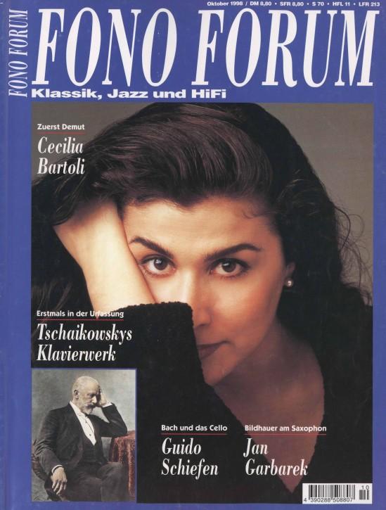 FonoForum Oktober 1998