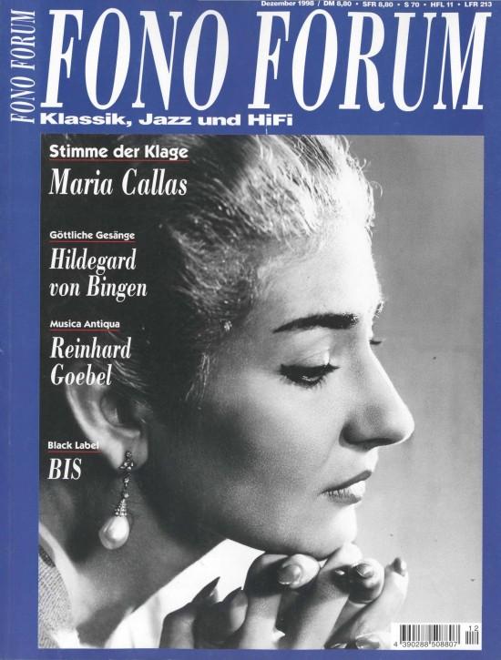 FonoForum Dezember 1998