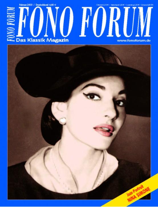 FonoForum Februar 2003
