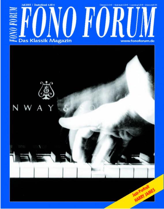 FonoForum Juli 2003