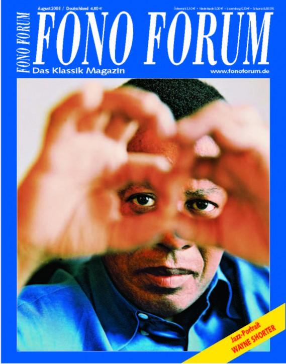 FonoForum August 2003