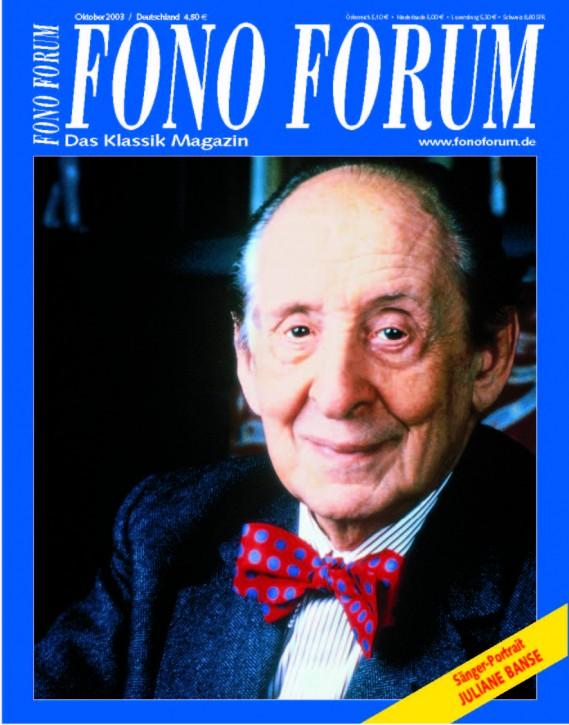 FonoForum Oktober 2003