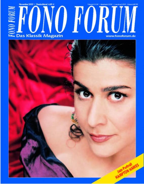 FonoForum November 2003