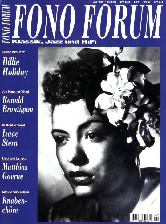 FonoForum Juli 1999