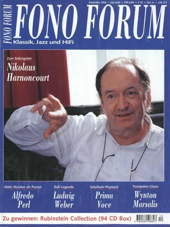 FonoForum Dezember 1999