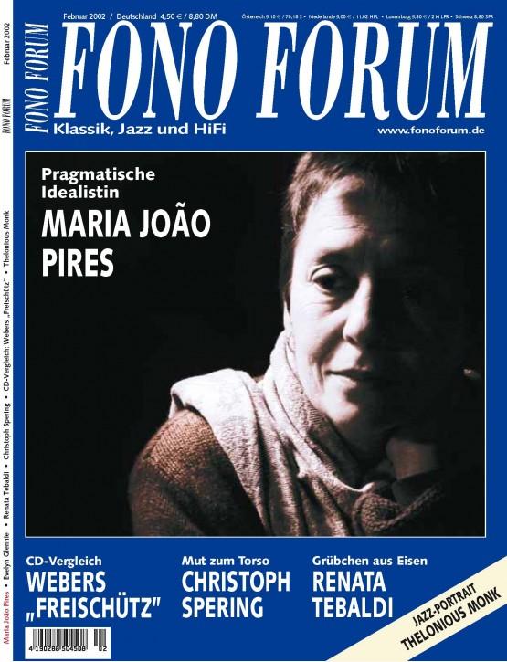 FonoForum Februar 2002