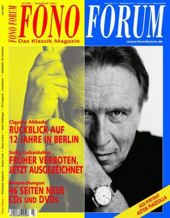 FonoForum Juli 2002