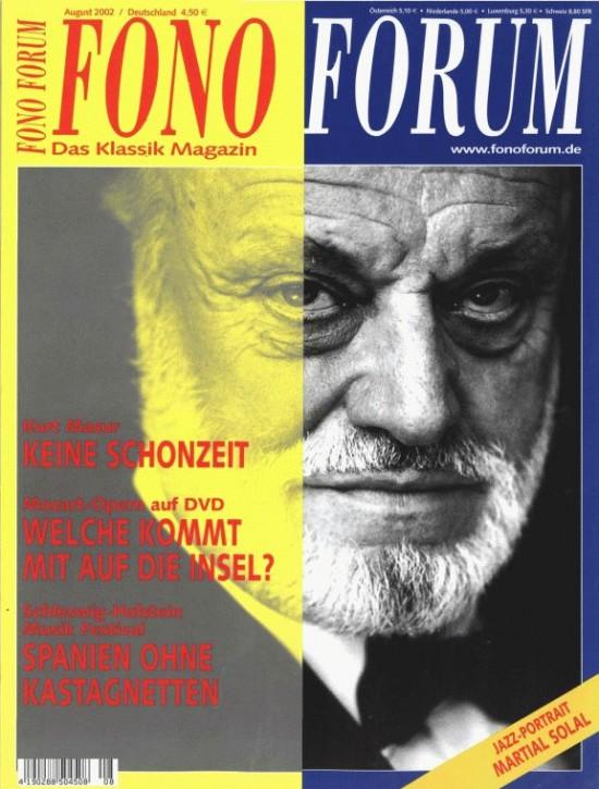 FonoForum August 2002