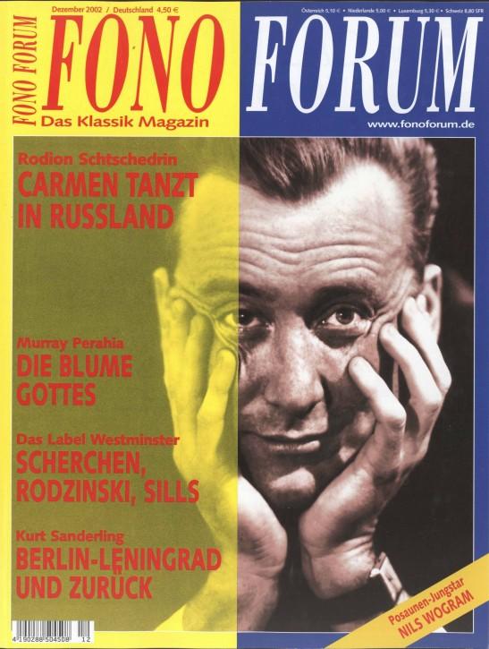 FonoForum Dezember 2002