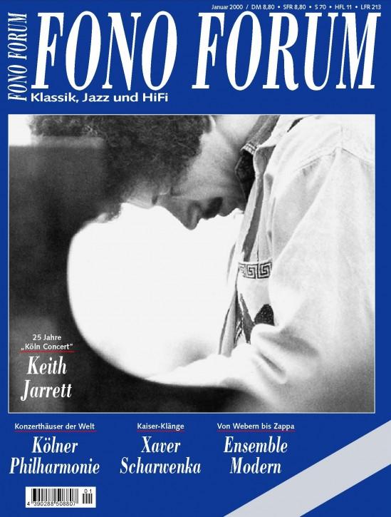 FonoForum Januar 2000