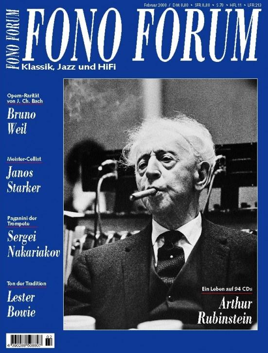 FonoForum Februar 2000