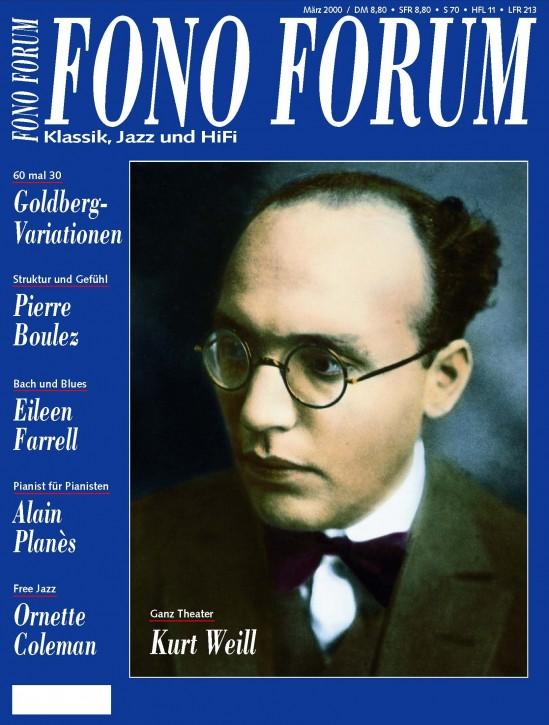 FonoForum März 2000