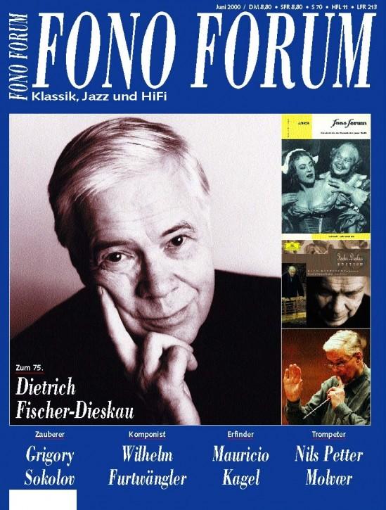 FonoForum Juni 2000