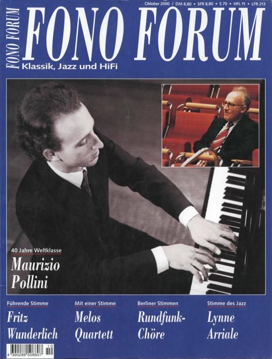 FonoForum Oktober 2000