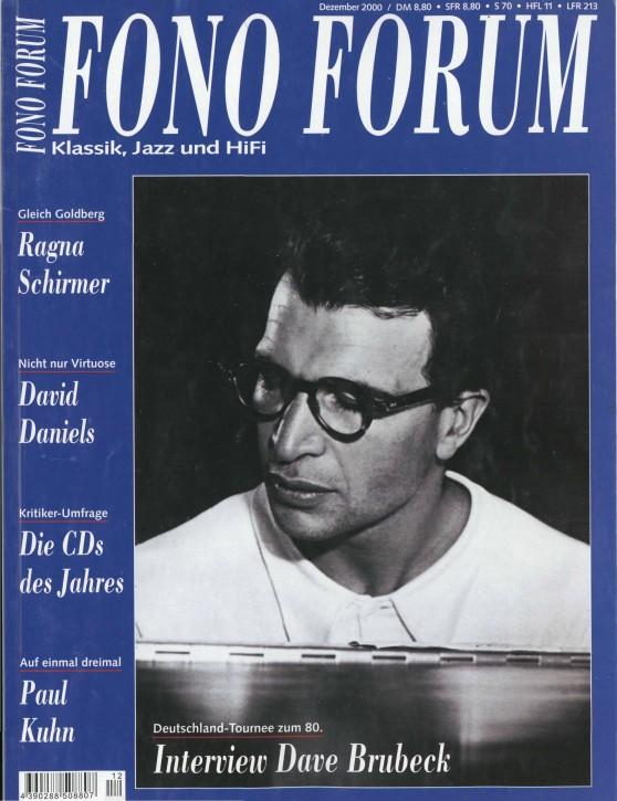 FonoForum Dezember 2000