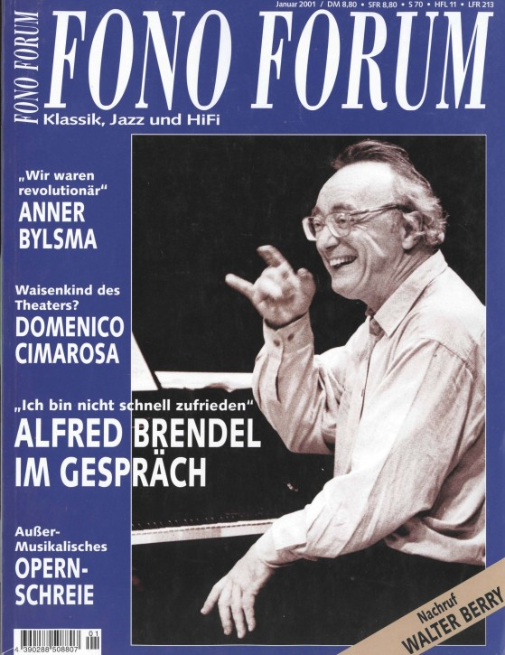 FonoForum Januar 2001