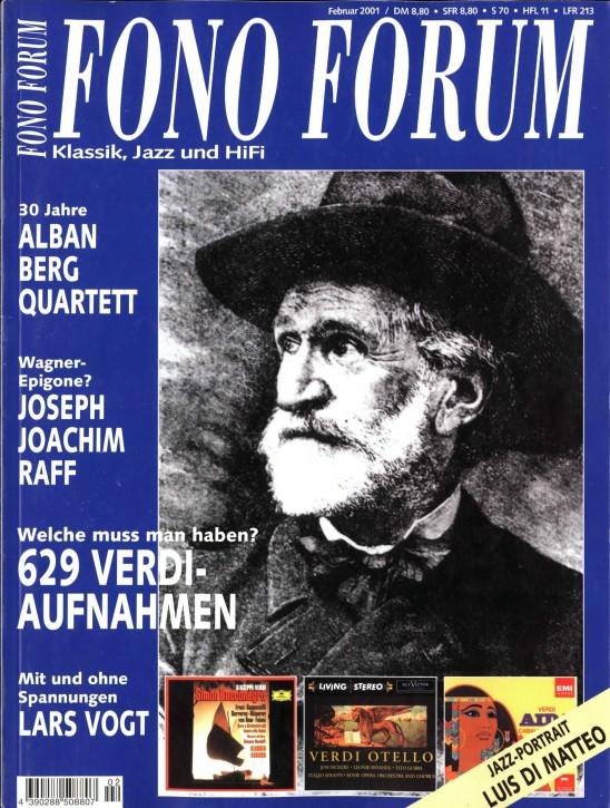 FonoForum Februar 2001