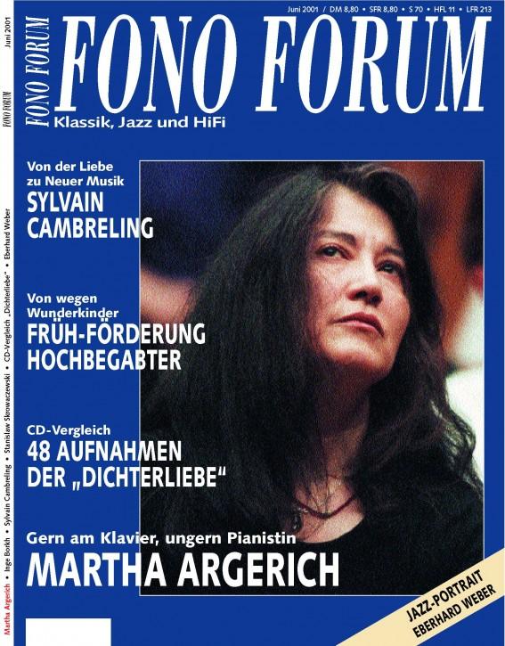 FonoForum Juni 2001