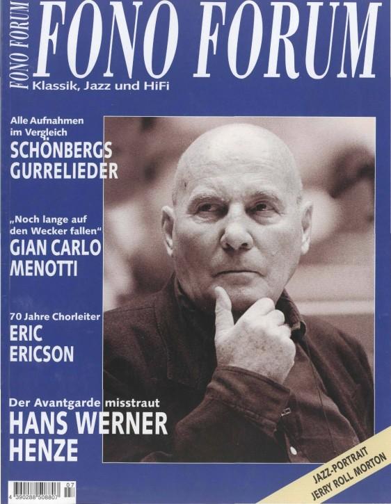 FonoForum Juli 2001
