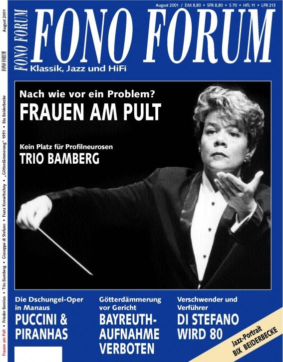 FonoForum August 2001