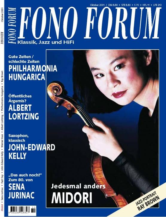 FonoForum Oktober 2001
