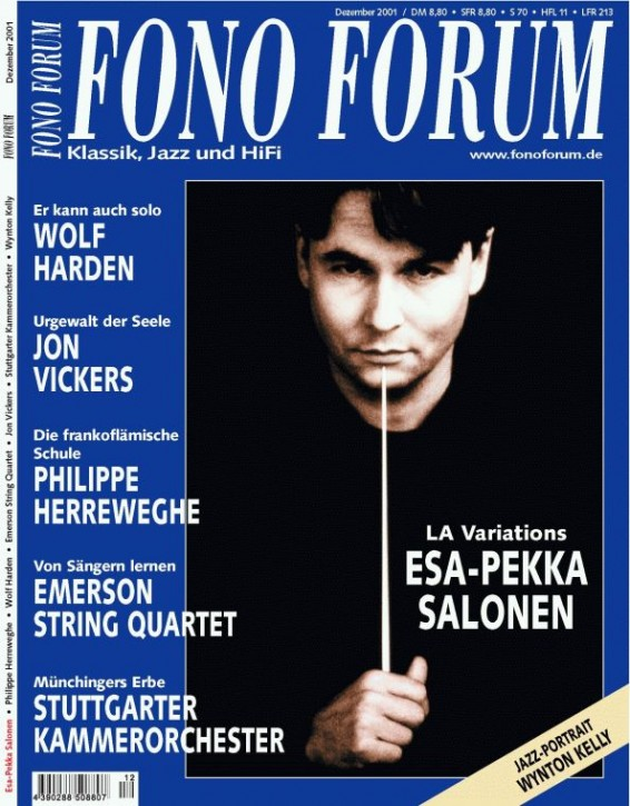FonoForum Dezember 2001