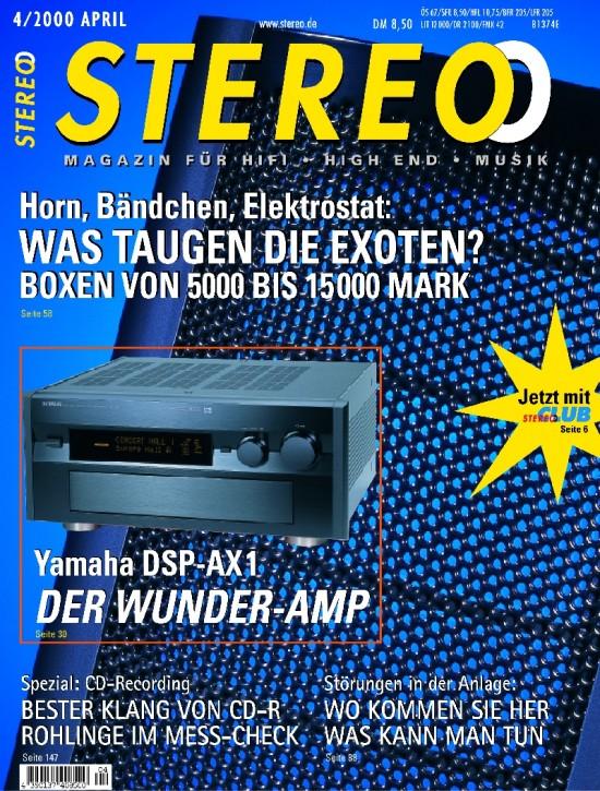 STEREO April 2000