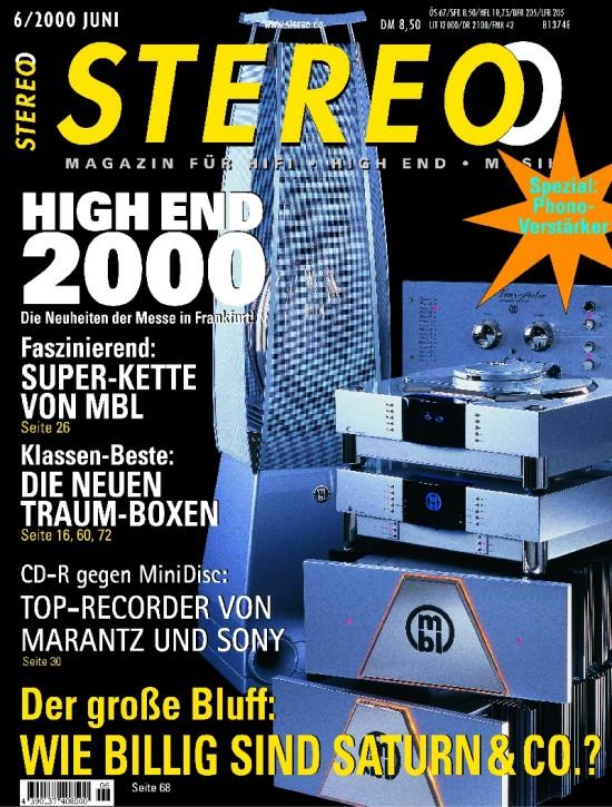 STEREO Juni 2000
