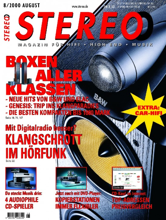 STEREO August 2000
