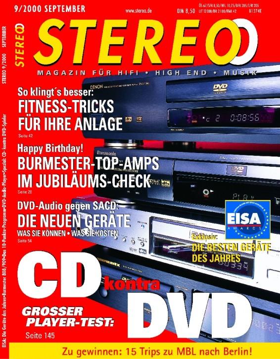 STEREO September 2000
