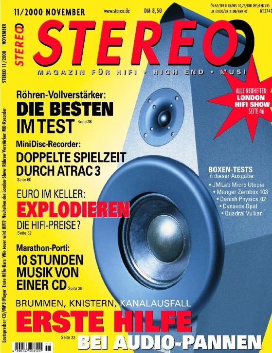 STEREO November 2000