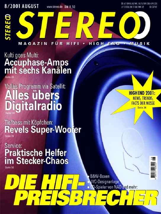 STEREO August 2001