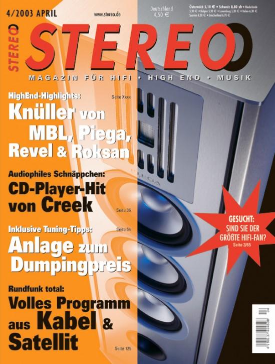 STEREO April 2003
