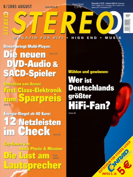 STEREO August 2003