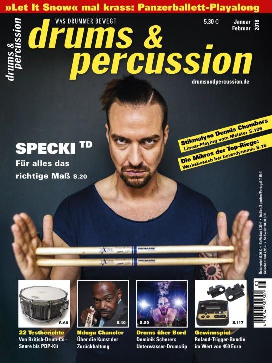 drums&percussion Januar/Februar 2018