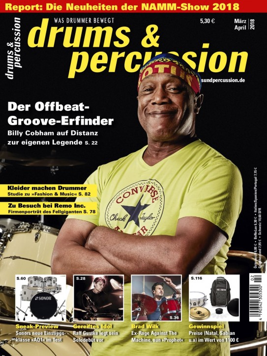 drums&percussion März/April 2018
