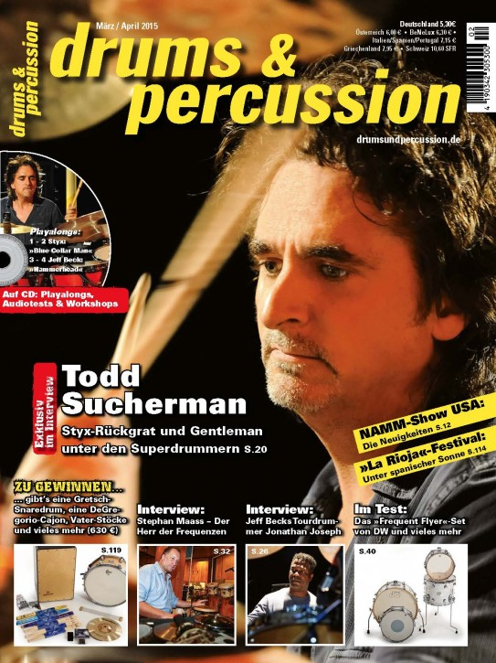 drums&percussion März/April 2015