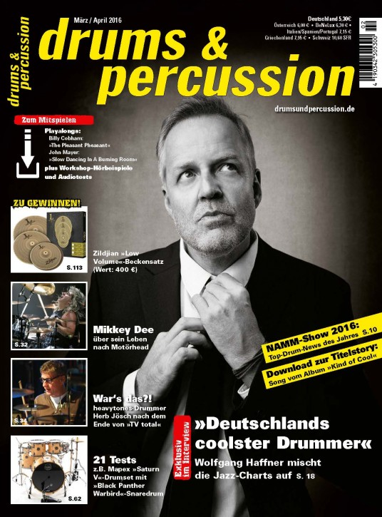 drums&percussion März/April 2016