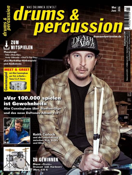 drums&percussion Mai/Juni 2016