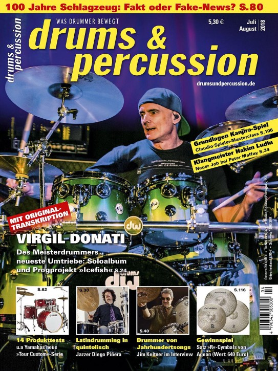 drums&percussion Juli/August 2018