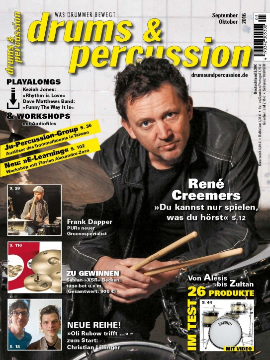 drums&percussion September/Oktober 2016