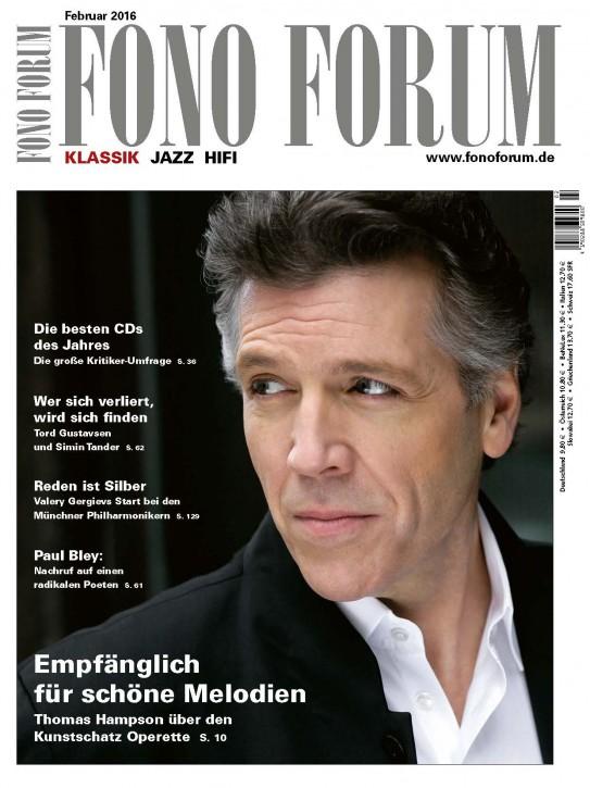 Fono Forum Februar 2016
