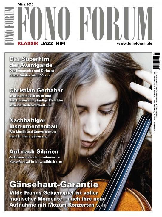 Fono Forum März 2015