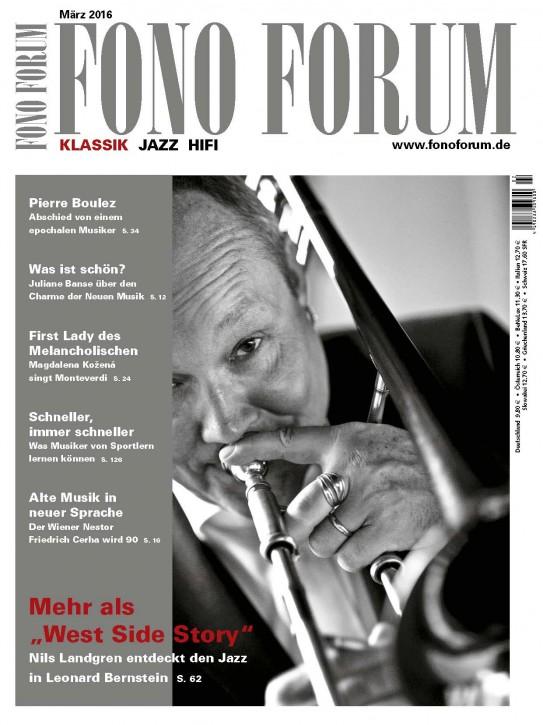 Fono Forum März 2016