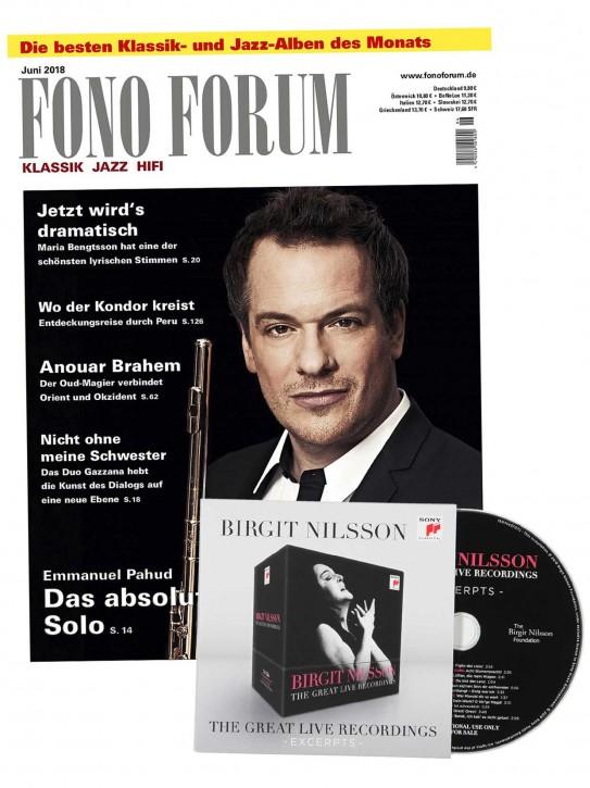 FONO FORUM Juni 2018 gedruckte Ausgabe