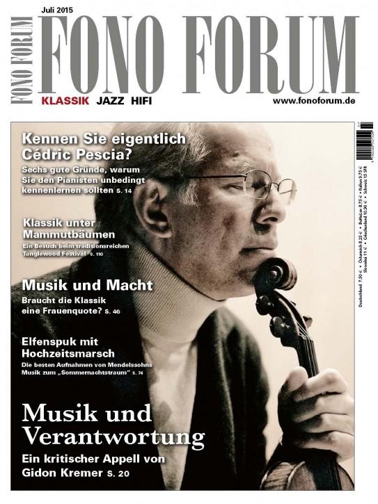 Fono Forum Juli 2015
